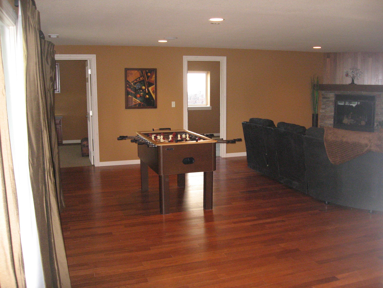 Finished basement remodel