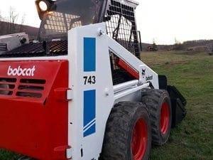 Bobcat for dirt work