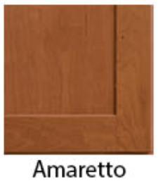 cabinets amaretto