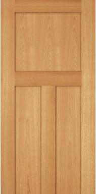 oak door flat panel