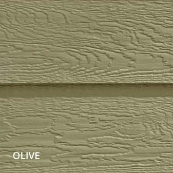 horizontal siding olive